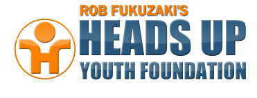 Rob Fukuzaki's Heads Up Youth Foundation, Logo